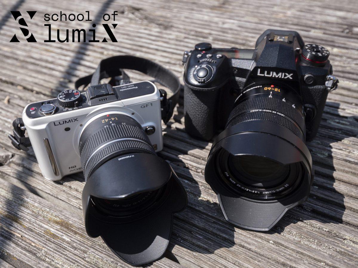 Lumix GF1 & Lumix G9
